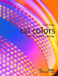 TIGER Drylac® exterior powder coatings - Custom Shutter Company