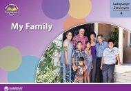 My Family - Oral Language Development - New Teacher Center