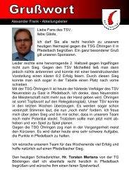 13. Heft gegen TSG Öhringen II 15.04.2012 - TSV Pfedelbach