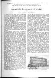 Zur Geschichte der Augenheilkunde in Leipzig - Universität Leipzig