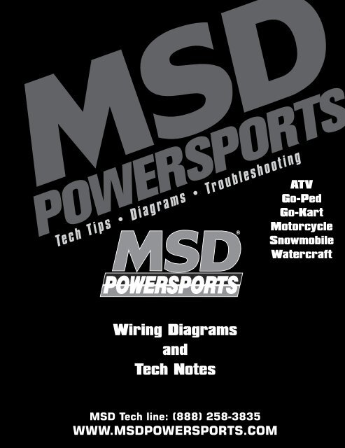 MSD Tech Line - MSD Powersports