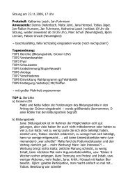Sitzung am 23.11.2009, 17 Uhr Protokoll: Katharina Losch, Jan ...