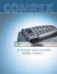 A simple and versatile studio codec... - Radikal