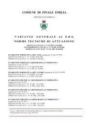 NTA Vol 5 VARIANTE - Comune di Finale Emilia