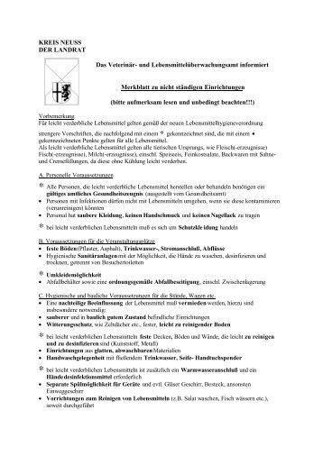 zu reinigen - Rhein-Kreis Neuss