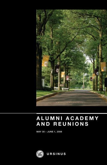 alumni academy and reunions - Ursinus College Student, Faculty ...