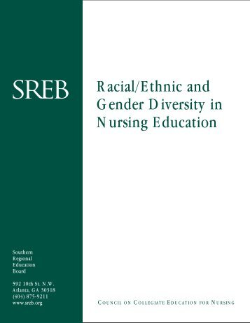 Racial/Ethnic and Gender Diversity in Nursing Education - Southern ...