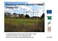 SoyrinkiMaaseutumaiset alueet - Maaseutupolitiikka