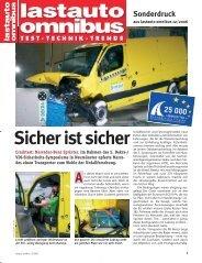 Sicher ist sicher - Mercedes-Benz Niederlassung Rhein-Ruhr