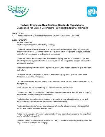 SANS 3000-4:2011 - Railway Safety Regulator