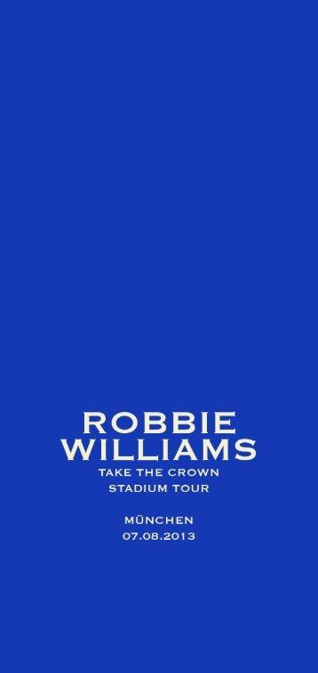 ROBBIE WILLIAMS - BMW Welt
