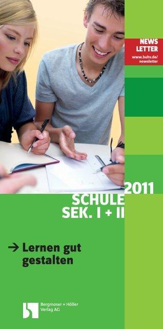 SCHULE SEK. I + II