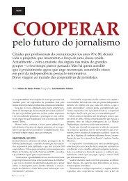 Cooperar pelo futuro do jornalismo - Clube de Jornalistas