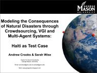 Presentation - George Mason University
