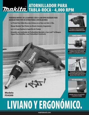 Tool Flyer (Page 1) - Makita