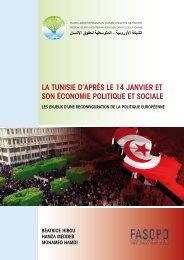 LA TUNISIE D'APRèS LE 14 JANVIER ET SON ... - Euromedrights