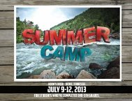 Elementary Camp information. - First Baptist Church