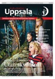 Programtidning 2007 - KulturNatten Uppsala