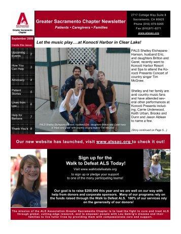 Patient Newsletter September 09 - The ALS Association Greater ...