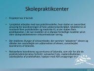 Praktikpladscenter og kvalitet i skolepraktik/ Jens Olsen, Selandia