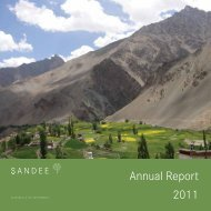 Annual Report 2011 - South Asian Network for Development and ...