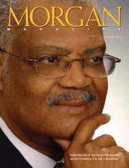 Celebrating the 20-Year Morgan Renaissance and The