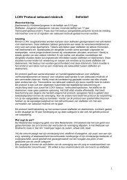 Het protocol seksueel misbruik - LCKV Jeugdvakanties