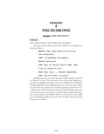 THE DUMB ONE - Reelfilms