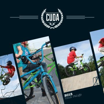 cuda bmx catalogue 2013 - Moore Large & Co Ltd