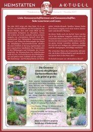 aktuelle Ausgabe Dezember 2013 - Heimstätten Genossenschaft ...