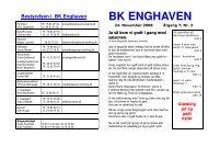 Årgang 7 - Nr. 3 side 1-20 - BK Enghaven
