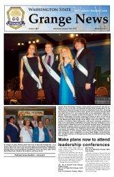 January 2013 Issue - Washington State Grange