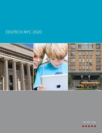 Edutech.NYC.2020 Report - NYCEDC