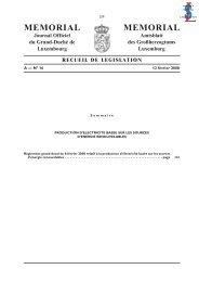 Règlement grand-ducal du 8 février 2008 relatif à la ... - myenergy