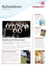 Marts 2007 - Arla Foodservice