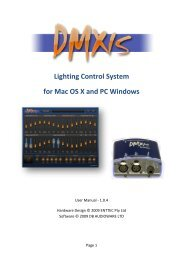 Lighting Control System for Mac OS X and PC Windows - Enttec