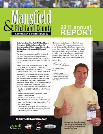 2011 Report - Mansfield - Richland County Convention and Visitors ...