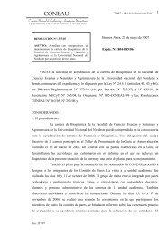Resolución CONEAU Nº 337/07. ACREDITAR con compromisos de ...