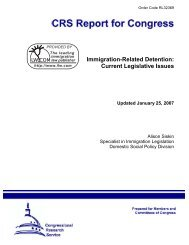 Immigration-Related Detention: Current Legislative Issues - PARDS
