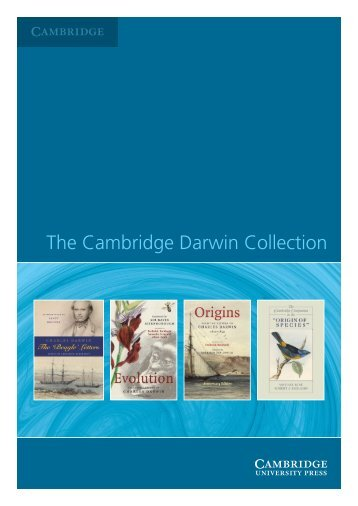 The Cambridge Darwin Collection - Best Book Hunters
