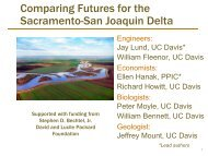Multi-Objective Policy Performance of the Delta with Sea Level Rise ...