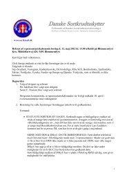 Referat fra Reprensentantskabs møde 12.maj 2012 - Forbundet Af ...