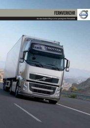 Volvo Trucks im Fernverkehr - Haas Nutzfahrzeuge
