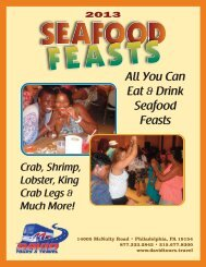 2013 Baltimore Seafood Feasts - David Tours & Travel