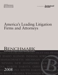 America's Leading Litigation Firms and Attorneys - Paul, Weiss ...