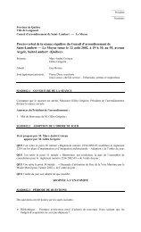 Procès-verbal de la séance régulière du ... - Ville de Longueuil