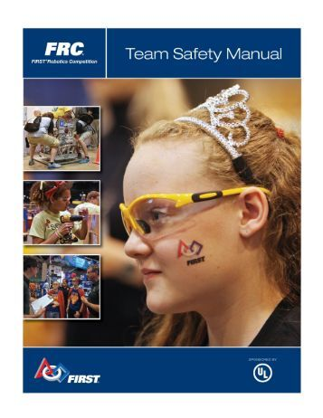 2015 FRC Team Safety Manual- FINAL 11.3.14