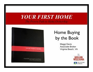 Your First Home - By The Book - Keller Williams Realty