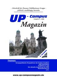 Themen - UP-Campus Magazin