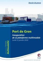 Port de Gron - (CCI) de l'Yonne